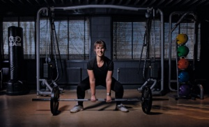 strong woman personal training