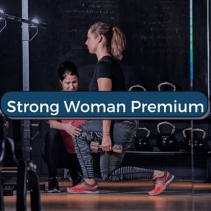 strong woman premium